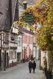 Germany, Rheinland-Pfalz, Bacharach, Town Building Detail Photographic Print by Walter Bibikow