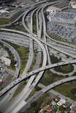 California, San Francisco, Interchange of 1-380 and US 101 Photographic Print by David Wall