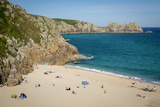 Porthcurno Beach, Cornwall, England Photographic Print by Brian Jannsen