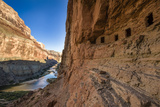 Anasazi Ruins. Nankoweap Granaries. Grand Canyon. Arizona. USA Lámina fotográfica por Tom Norring