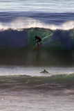 USA, California, San Diego. Surfer at Cardiff by the Sea Photographic Print by Kymri Wilt