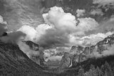USA, California, Yosemite, Bridalveil Falls Photographic Print by John Ford