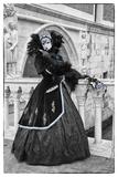 Darrell Gulin - Venice, Italy. Mask and Costumes at Carnival - Fotografik Baskı