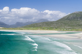 Seilebost Beach on South Harris, Sound of Transay. Scotland Photographic Print by Martin Zwick