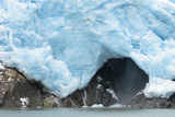 A Close Up View of the Terminus of a Resurrection Bay Glacier Photographic Print by Sheila Haddad
