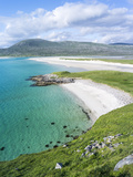 Isle of Harris, Seilebost Beach on South Harris. Scotland in July Photographic Print by Martin Zwick