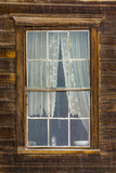 USA, California, Bodie. Close-up of Window Photographic Print by Don Paulson