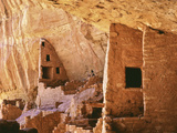 USA, Colorado, Mesa Verde, Long House Lámina fotográfica por John Ford
