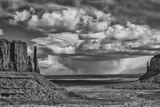 USA, Arizona, Monument Valley Approaching Storm Photographic Print by John Ford