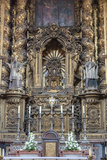 Se Do Porto, Europe, Portugal, Oporto, Altar Photographic Print by Lisa S. Engelbrecht