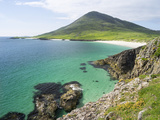 Isle of Harris, the Coast Near Northton. Scotland in July Photographic Print by Martin Zwick