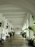 Architecture of the University of Cartagena, Cartagena, Colombia Photographic Print by Jerry Ginsberg