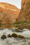 Reflections from Morning Sun. Colorado River. Grand Canyon. Arizona Photographic Print by Tom Norring