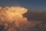 Aerial View of a Cumulonimbus Cloud Photographic Print by Greg Probst