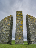 Land Raiders Monument Near Coll and Gress, Isle of Lewis, Scotland Photographic Print by Martin Zwick