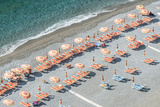 Italy, Amalfi Coast, Positano Beach Fotografisk trykk av Rob Tilley