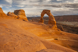 USA, Utah, Arches National Park. Delicate Arch at Sunset Photographic Print by Cathy & Gordon Illg
