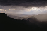 Dramatic Weather over the Grand Canyon, Yaki Point, Arizona Photographic Print by Greg Probst