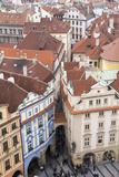 Czech Republic, Bohemia, Prague. Prague Central Square Photographic Print by Emily Wilson