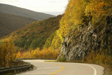 Canada, Nova Scotia, Cape Breton, Cabot Trail, in Fall Color Photographic Print by Patrick J. Wall