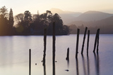 Sunset, Derwent Water, Lake District, Cumbria, UK Photographic Print by Peter Adams