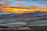 Sunset at Great Sand Dunes National Park Photographic Print by Howie Garber