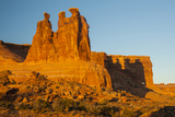 USA, Utah, Arches NP. the Three Gossips Formation at Sunrise Photographic Print by Cathy & Gordon Illg