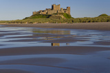 Bamburgh Castle, North Umbria, England, UK Photographic Print by Peter Adams