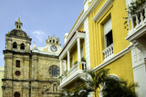 San Pedro Claver Church, Cuidad Vieja, Cartagena, Colombia Photographic Print by Jerry Ginsberg