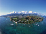 Diamond Head, Honolulu, Oahu, Hawaii, USA Photographic Print by Douglas Peebles