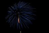 Minnesota, Mendota Heights, Fireworks, Aerial Displays Photographic Print by Bernard Friel