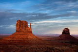 Utah, Monument Valley Navajo Tribal Park. Eroded Formations Photographic Print by Jay O'brien