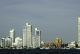 Modern and Luxurious Bocagrande, Cartagena, Colombia Photographic Print by Jerry Ginsberg