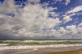 Storm Coming In, Eastern Florida Coast, Atlantic Ocean, Near Jupiter Photographic Print by Rob Sheppard