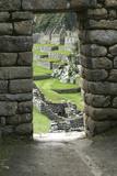 Peru, Machu Picchu Overview Reproduction photographique par John Ford