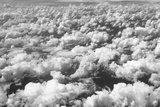 Aerial View of Clouds, Central America Photographic Print by Keren Su