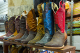 Cowboy Boots, San Juan de Dios Market, Guadalajara, Jalisco, Mexico Photographic Print by Douglas Peebles
