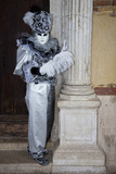 Venice, Italy. Mask and Costumes at Carnival Photographic Print by Darrell Gulin