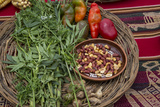 Quechua, Food, Misminay Village, Sacred Valley, Cusco Region, Peru Photographic Print by Douglas Peebles