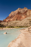 Colorado River. Calcium Carbonate Colors. Grand Canyon. Arizona Photographic Print by Tom Norring