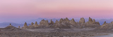 USA, California. Composite Panoramic of Trona Pinnacles Photographic Print by Don Paulson