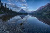 USA, Montana, Glacier National Park, Two Medicine Lake Fotografisk trykk av Rona Schwarz