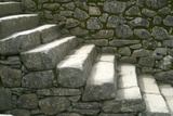 Peru, Machu Picchu, Stairs Photographic Print by John Ford