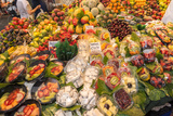 Europe, Spain, Barcelona, St. Josep La Boqueria, Food Market, Fruit Photographic Print by Lisa S. Engelbrecht