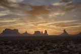 USA, Arizona, Monument Valley, First Light Photographic Print by John Ford