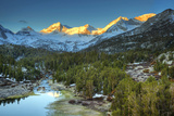USA, California, Sierra Nevada Range. Mack Lake at Sunrise Photographic Print by Dennis Flaherty