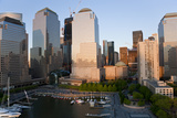 Lower Manhattan, Financial District, New York, USA Photographic Print by Peter Adams