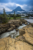 Snowmelt Stream in Glacier National Park, Montana Photographic Print by Howie Garber