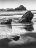 USA, California, Pfeiffer Beach Fotografisk tryk af Ford, John