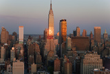 Empire State Building and Midtown Manhattan, New York, USA Photographic Print by Peter Adams